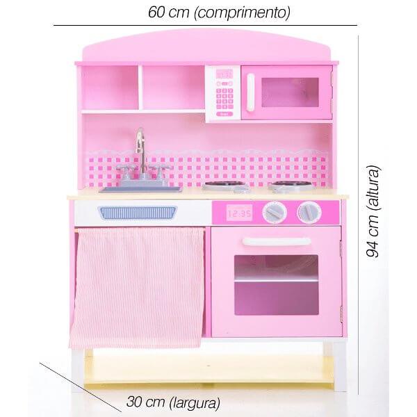 Cozinha Pink Fashion da Carol