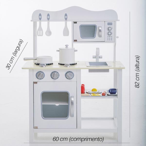 Cozinha White Clean_KforKids