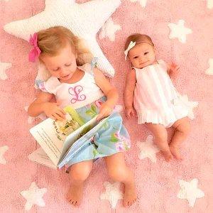 Tapete para piso - Pink Star(3)