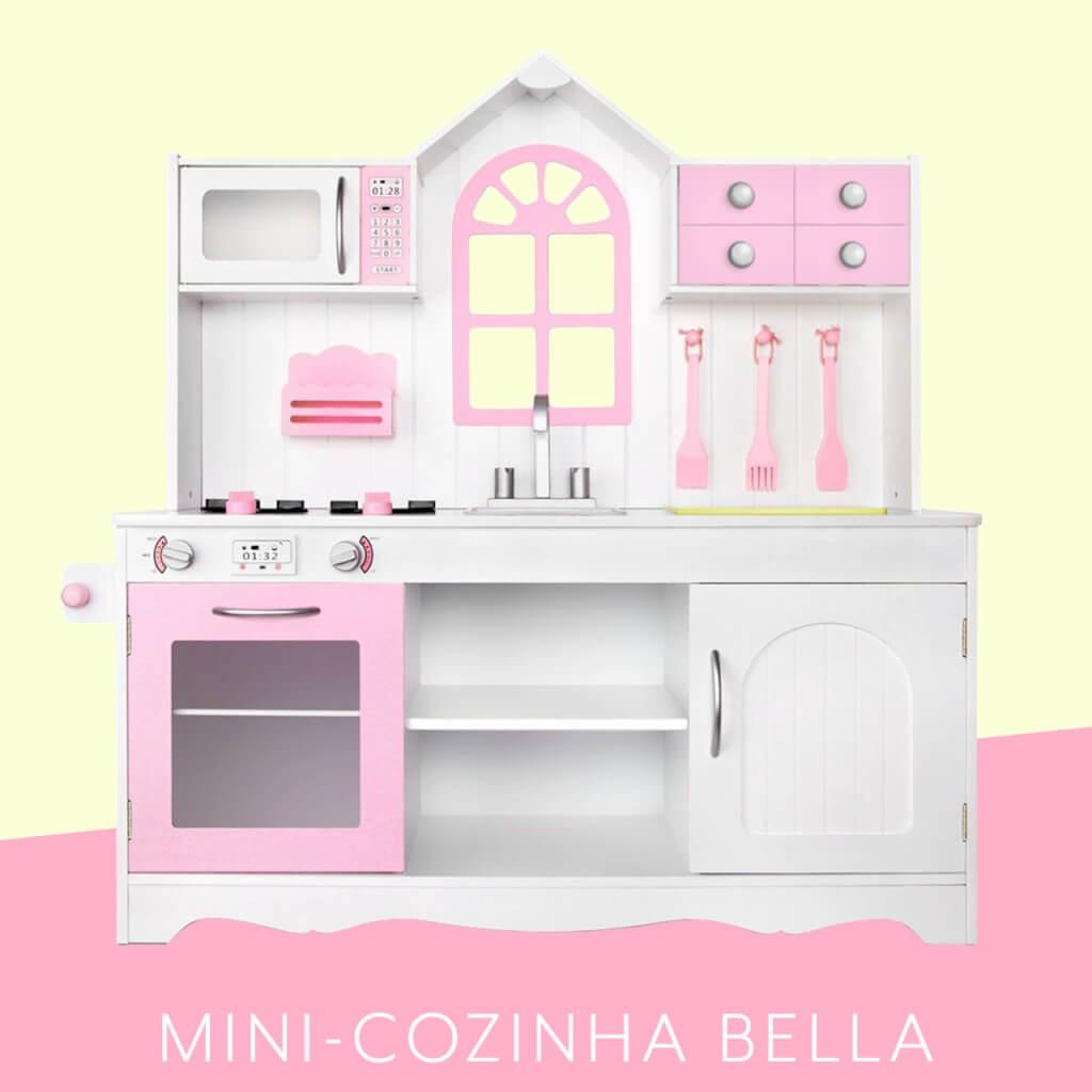 Mini Cozinha Bella L Cozinha De Brincar Em Madeira L Kforyou